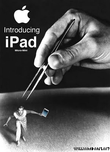 INTRODUCING iPAD MICO-MINI by Colonel Flick