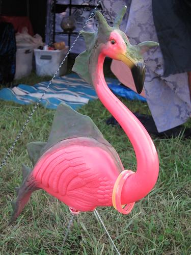 Jurassic Flamingo