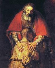 Rembrandt (1669), El hijo pródigo