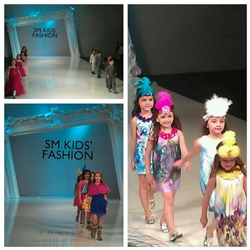 Their parents amd grams must be very very proud! #PFW #PhFashionWeek @SMKids #adorable #cute #kids
