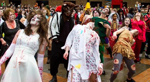 Portland Zombie Walk 2012