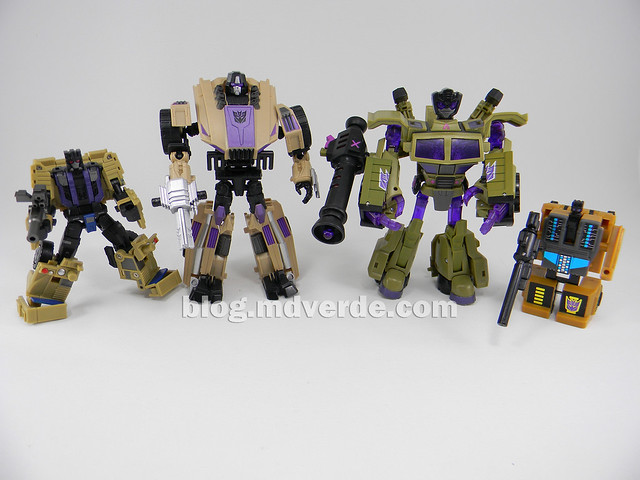 Transformers Swindle Generations Fall of Cybertron - SDCC Exclusive - modo robot vs Fans Project vs Animated vs G1
