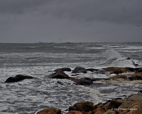 Hurricane Sandy....almost by Jerri Moon Cantone