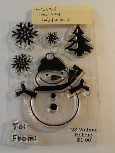#28 Walmart Holiday $1.00