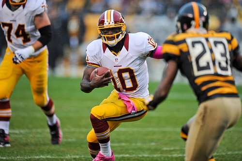gary clark compares robert griffin III to lebron james