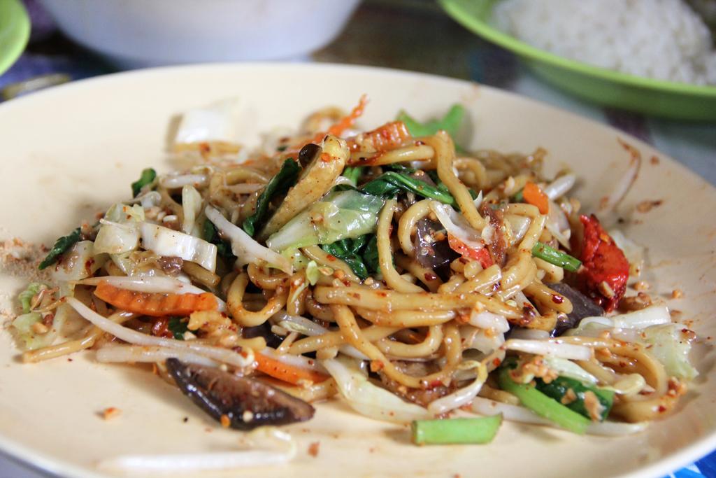 Thailand vegetarian festival in Bangkok