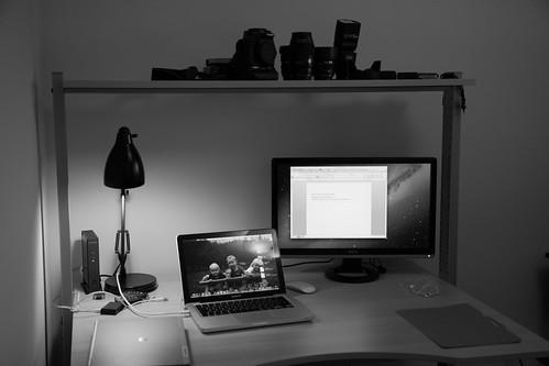 nytt skrivbord