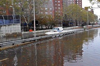 Hurricane Sandy NYPD FDR Flood 2012