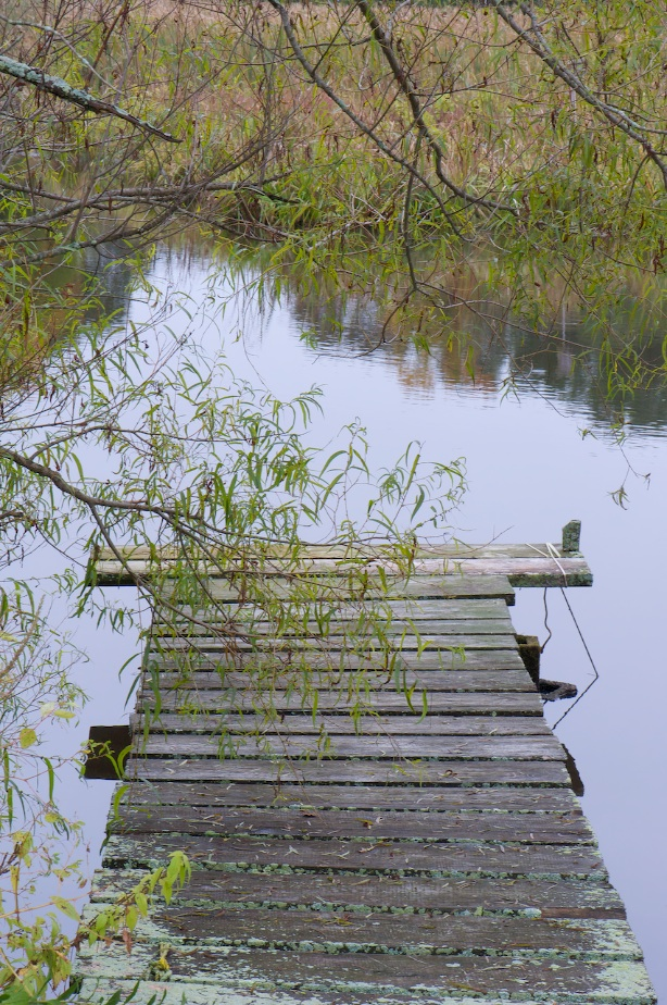 dock to lake