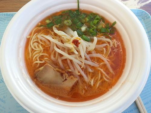 ra121102東京ラーメンショー 胃袋掴味×えびすこ 鶏と甘海老のがっつり醤油