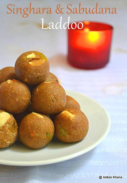 Singhara-Sabudana-ladoo-diwali-sweet-recipe
