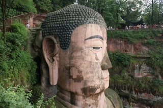 Head of Giant Buddha