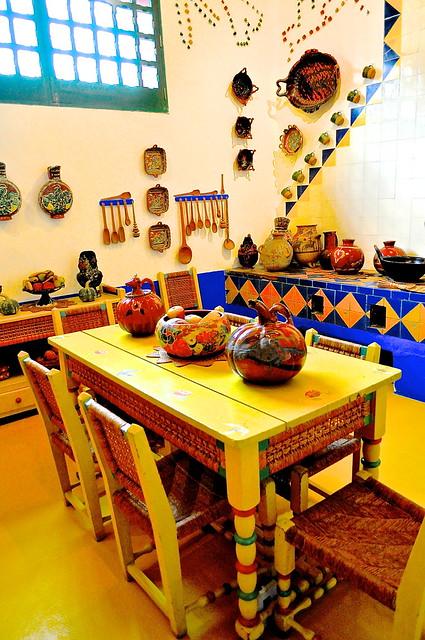Casa azul frida kahlo diego rivera flickr photo for La casa azul decoracion