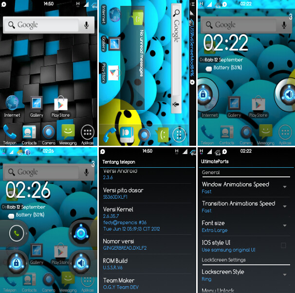 Ultimate SuperSonic ROM v6 for Samsung Galaxy Y