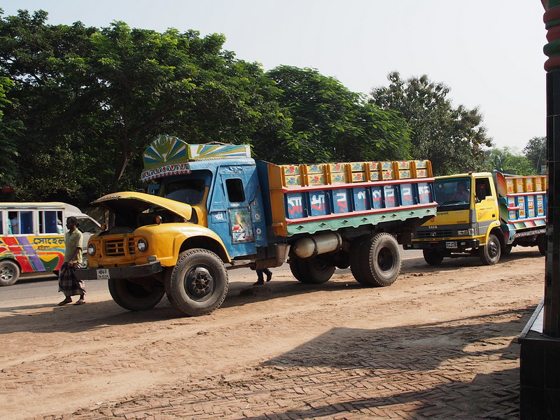 A Truck in Bangladesh
