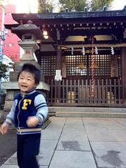 朝散歩 - 恵比寿神社 (2012/11/2)