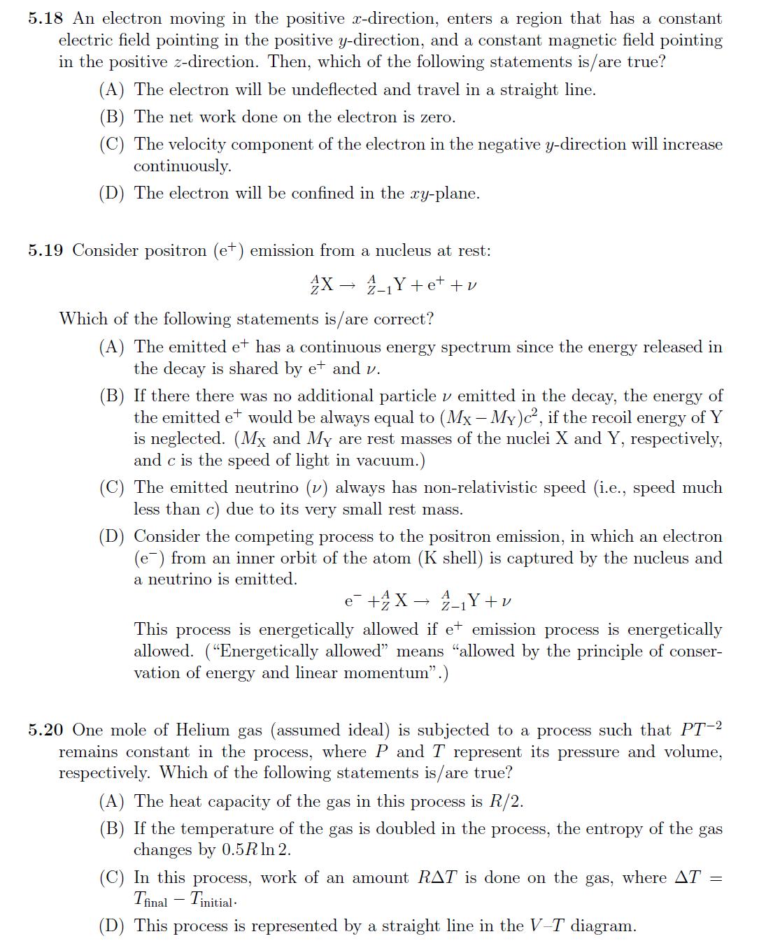 NEST 2010 Question Paper