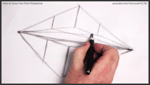 2D design how to draw in two point perspective 007