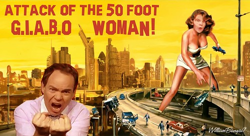 ATTACK OF THE 50FT GIABO WOMAN by Colonel Flick/WilliamBanzai7