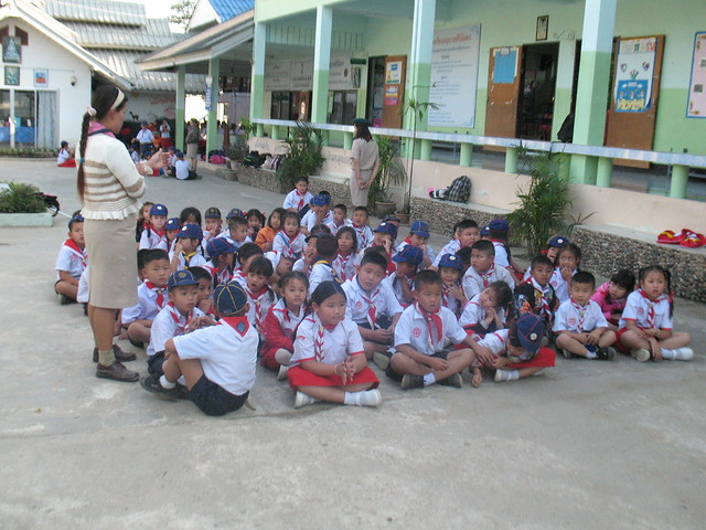 School in Pai Thailand