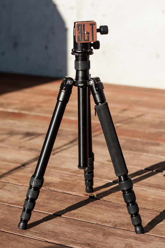 X1.1a Adrian travel tripod - 3 Legged Thing