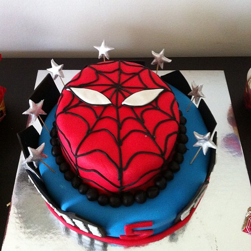 #spidermancake by l'atelier de ronitte