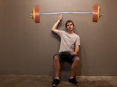 arm, weight training, exercise equipment, weightlifting, sports, room, muscle, limb, barbell, leg, human body, physical fitness, person, physical exercise,