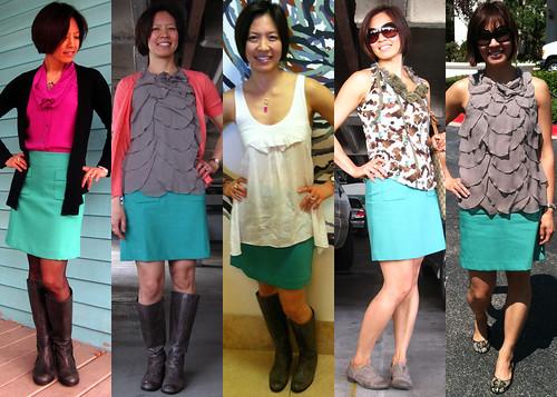 green skirt 01