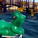 Playground Frog, January 14, 2013 by Maggie Osterberg