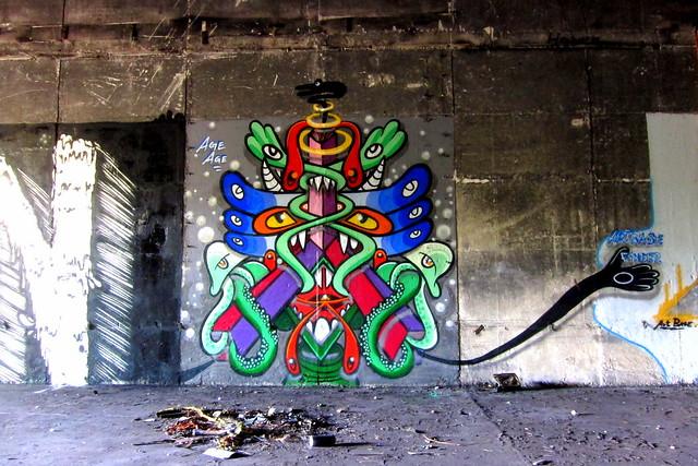 graffiti | age age | klosterfelde . artbase 2012