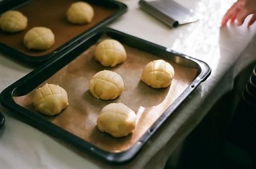 メロンパンを作り方