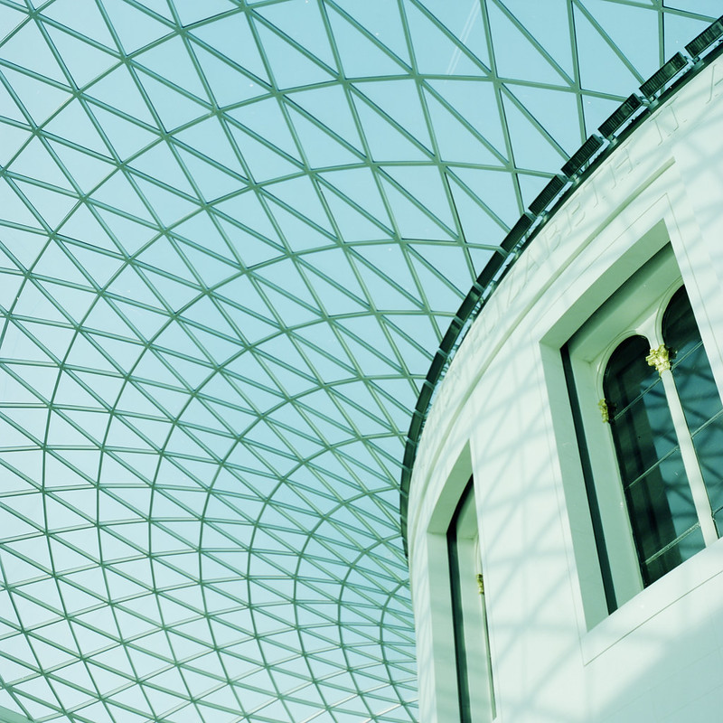 Roof of the British Museum.