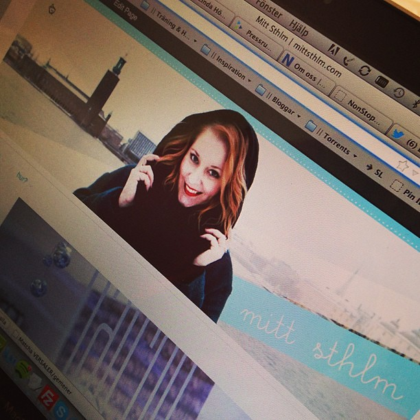Ni missar väl inte min nya Stockholmsblogg - http://mittsthlm.com