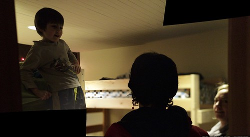 sequoia explains his loft bed