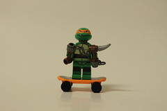 LEGO Teenage Mutant Ninja Turtles The Shellraiser Street Chase (79104) - Michelangelo