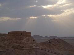 Torre do silencio em Yazd