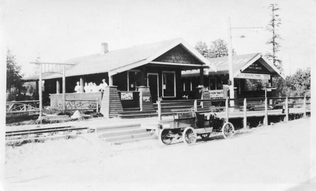 Seahurst Park sales office, Burien, c1912