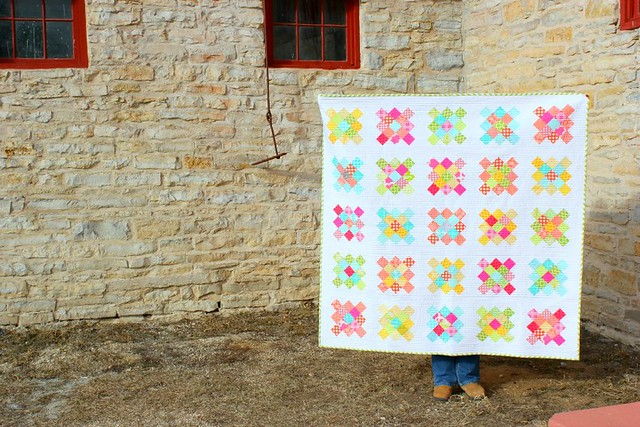 Granny Square Quilt #finishit2013