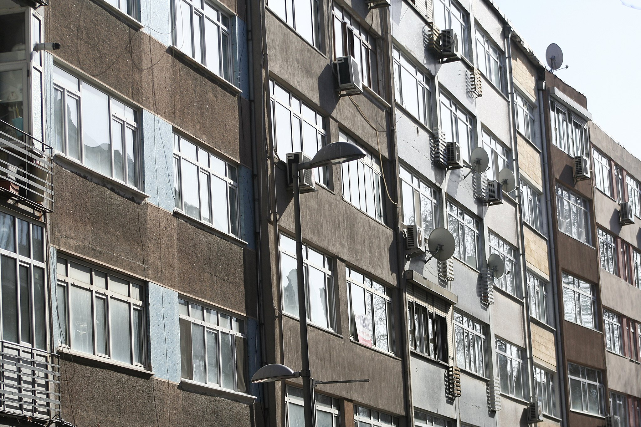 Beşiktaş apartments.
