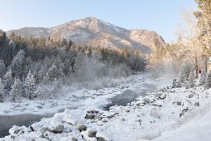 Winter tale of East Sayan