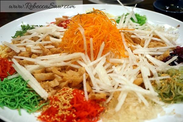 Chinese New Year Menu 2013 - Tai Ze Heen, Prince Hotel KL-001