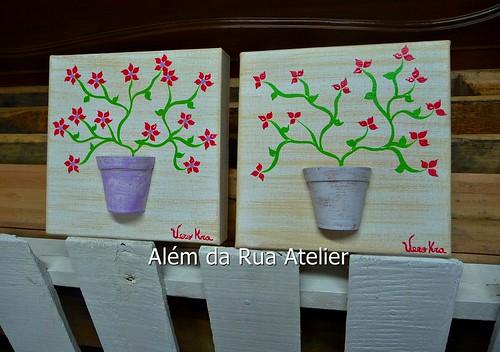 Telas com motivo floral
