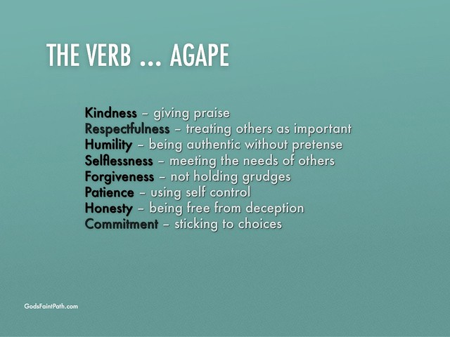 What Is Agape Love In The Bible