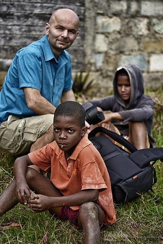 The Soroa kids by Rey Cuba