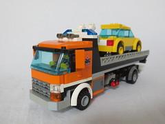 Lego City-Style Vehicles