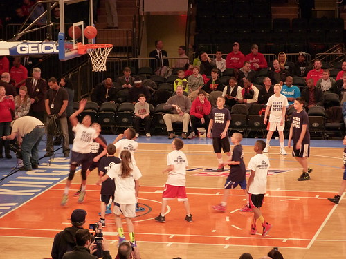 CYO kids play at Madison Square Garden
