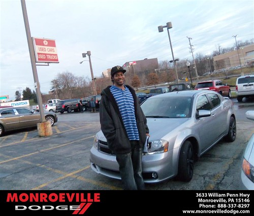 Congratulation to Daniel King II on the 2013 Dodge Avenger by Monroeville Dodge