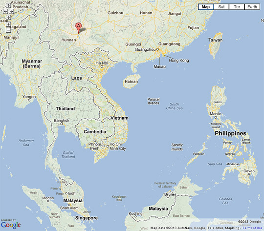Yunnan and Southeast Asia