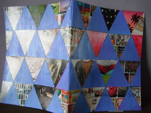 Purple triangles covers