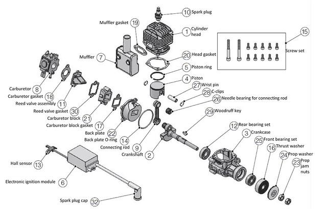 Labeled Engine Diagram on 2 Stroke Engine Diagram Label